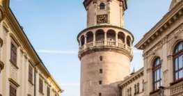 Der Feuerturm in der Altstadt von Sopron